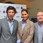 José Luis Roiz, presidente y fundador de Zona Vital y Karina Mazzoco.