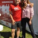 Ronnie Arias y Celeste Cid.