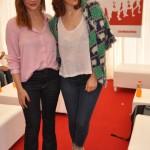 Celeste Cid y Paula Kohan.